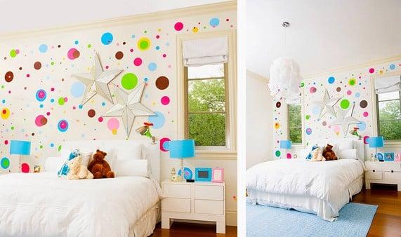 tendances d co quel papier peint pour une chambre d enfant. Black Bedroom Furniture Sets. Home Design Ideas